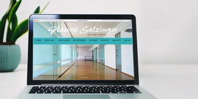 Website Glaserei Salzinger